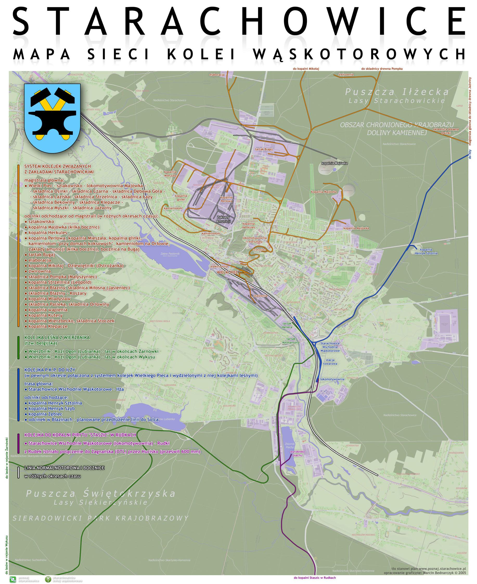 Mapy Waskotorowki Poznaj Starachowice Blog