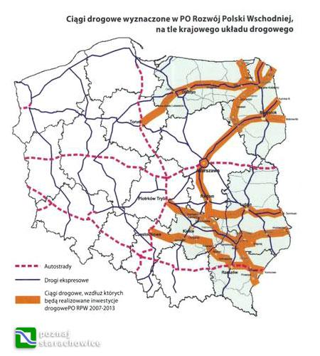 PO RPW - inwestycje drogowe